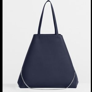 Theory shoulder Tote